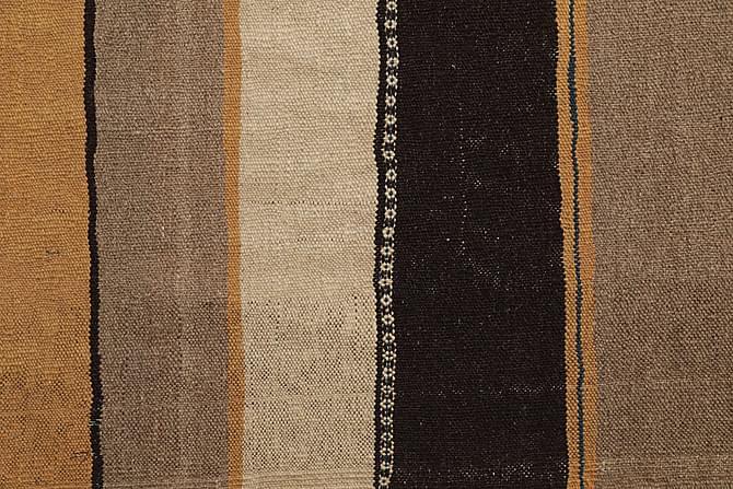 Orientalisk Kelimmatta 143x203 - Beige|Svart - Inomhus - Mattor - Kelimmattor