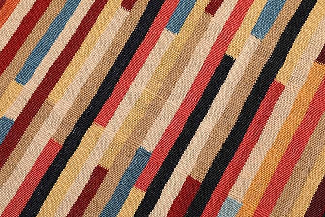 Orientalisk Kelimmatta 67x95 - Flerfärgad - Inomhus - Mattor - Kelimmattor
