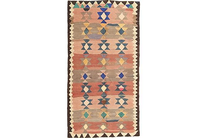 Orientalisk Kelimmatta Fars 135x265 - Flerfärgad - Inomhus - Mattor - Kelimmattor