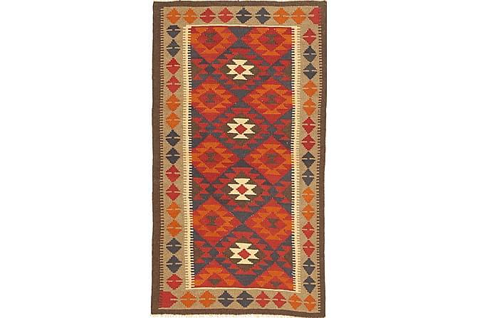 Orientalisk Kelimmatta Maimane 100x185 - Flerfärgad - Inomhus - Mattor - Kelimmattor