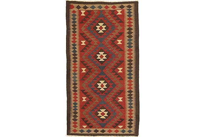 Orientalisk Kelimmatta Maimane 100x189 - Flerfärgad - Inomhus - Mattor - Kelimmattor