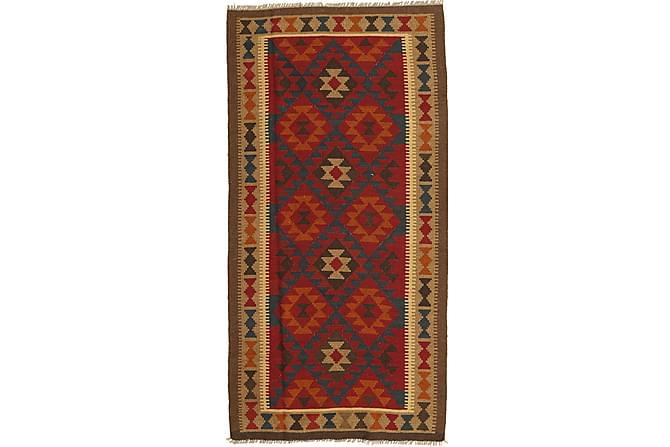 Orientalisk Kelimmatta Maimane 102x200 - Flerfärgad - Inomhus - Mattor - Kelimmattor