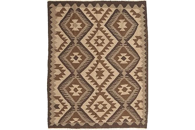 Orientalisk Kelimmatta Maimane 160x200 - Brun - Inomhus - Mattor - Kelimmattor