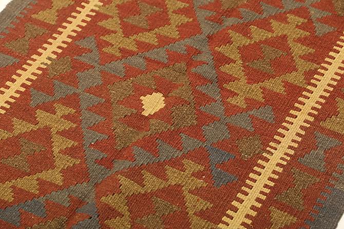 Orientalisk Kelimmatta Maimane 80x129 - Brun|Orange - Inomhus - Mattor - Kelimmattor
