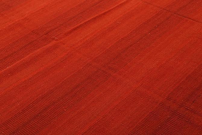 STOR Kelimmatta Moderna 205x294 - Röd - Möbler & Inredning - Mattor - Kelimmattor