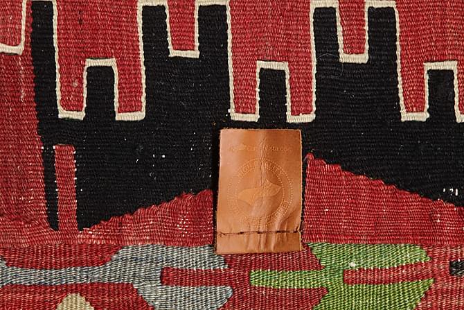 Stor Kelimmatta Semiantik 170x316 - Röd - Inomhus - Mattor - Kelimmattor