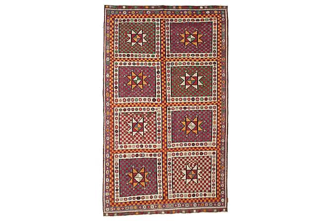 Stor Kelimmatta Semiantik 183x311 - Brun - Inomhus - Mattor - Kelimmattor