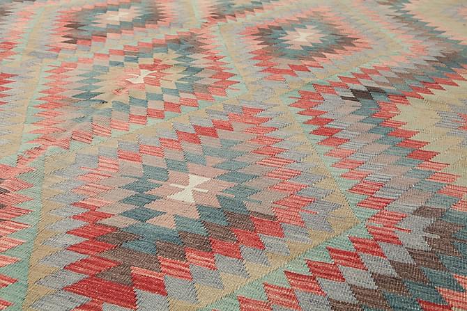 Stor Kelimmatta Semiantik 200x323 - Röd - Inomhus - Mattor - Kelimmattor