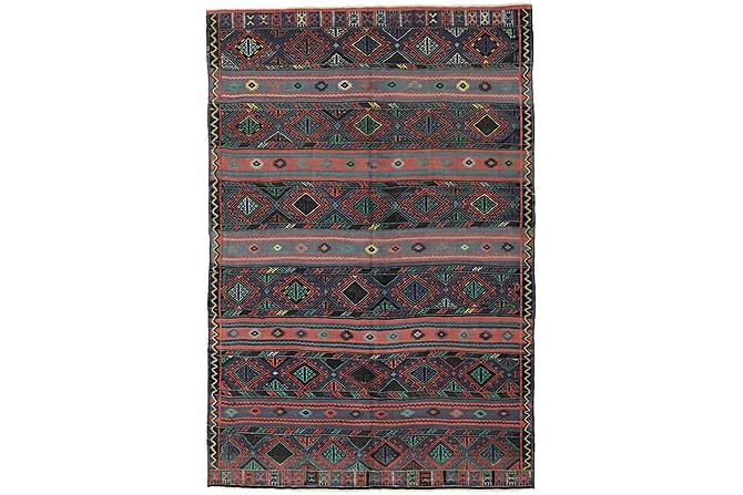 Stor Kelimmatta Turkisk 168x250 - Röd - Inomhus - Mattor - Kelimmattor