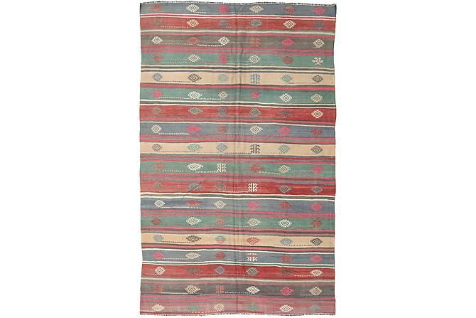 Stor Kelimmatta Turkisk 192x297 - Flerfärgad - Inomhus - Mattor - Kelimmattor