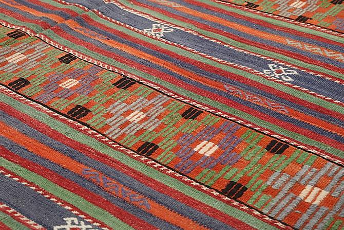 Stor Kelimmatta Turkisk 193x333 - Flerfärgad - Inomhus - Mattor - Kelimmattor