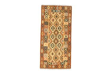 Orientalisk Kelimmatta Afghan 100x207