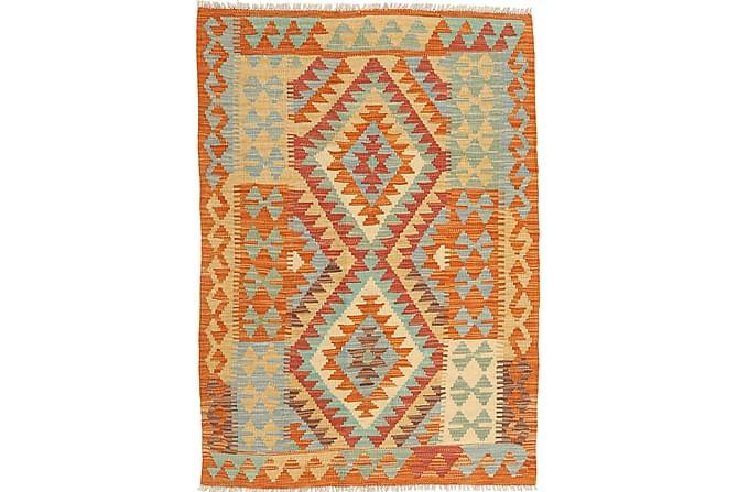Orientalisk Kelimmatta Afghan 87x119 - Flerfärgad - Inomhus - Mattor - Marockanska mattor