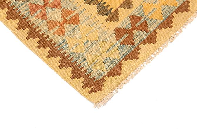 Orientalisk Kelimmatta Afghan 93x112 - Flerfärgad - Inomhus - Mattor - Marockanska mattor