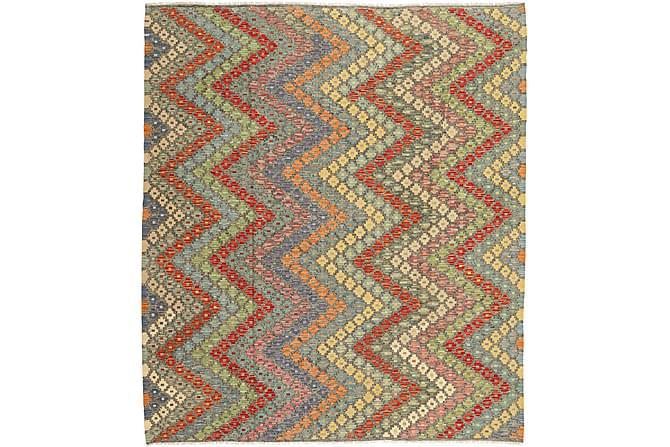 Stor Kelimmatta Afghan 212x248 - Flerfärgad - Inomhus - Mattor - Marockanska mattor