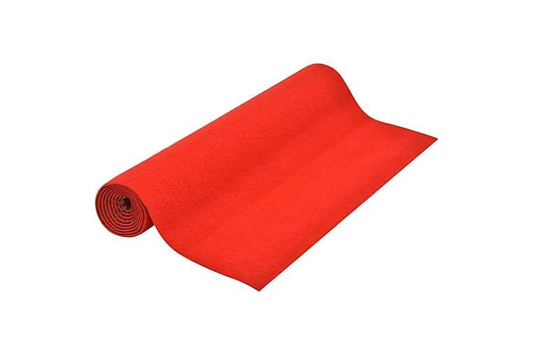 Konstgräs med halkskydd 20x1,33 m röd - Röd - Möbler & Inredning - Mattor - Nålfiltsmattor & konstgräsmattor