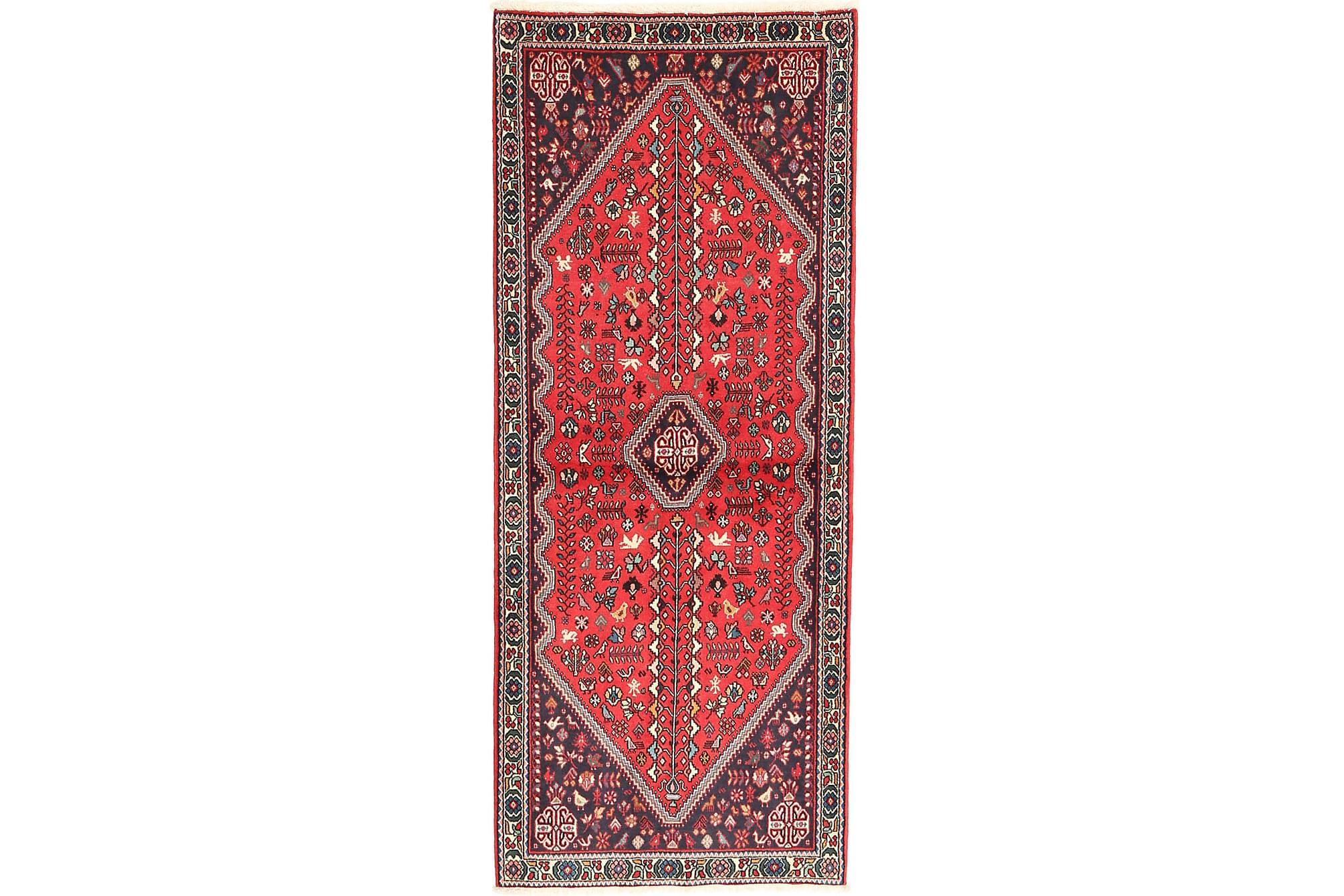 ABADEH Matta 87x204 Stor Röd, Orientaliska mattor