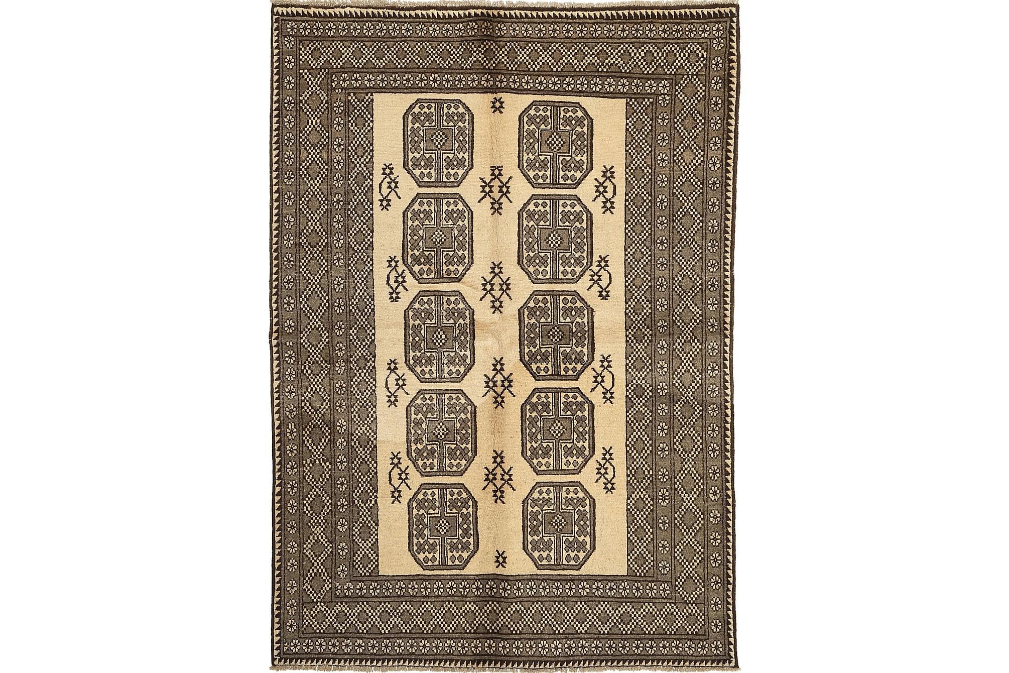 AFGHAN Matta 164x235 Stor Brun, Orientaliska mattor