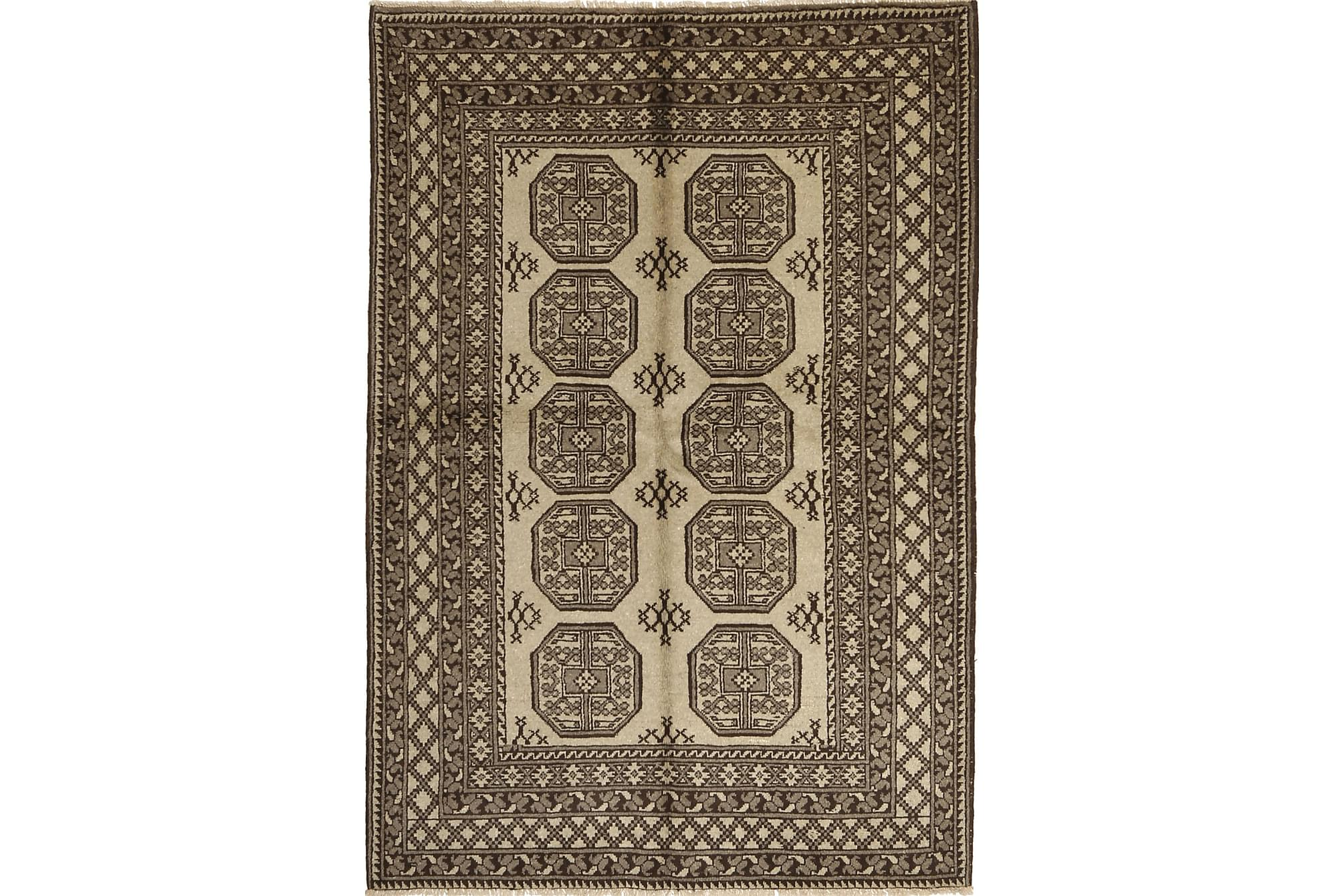 AFGHAN Matta 165x243 Stor Brun, Orientaliska mattor