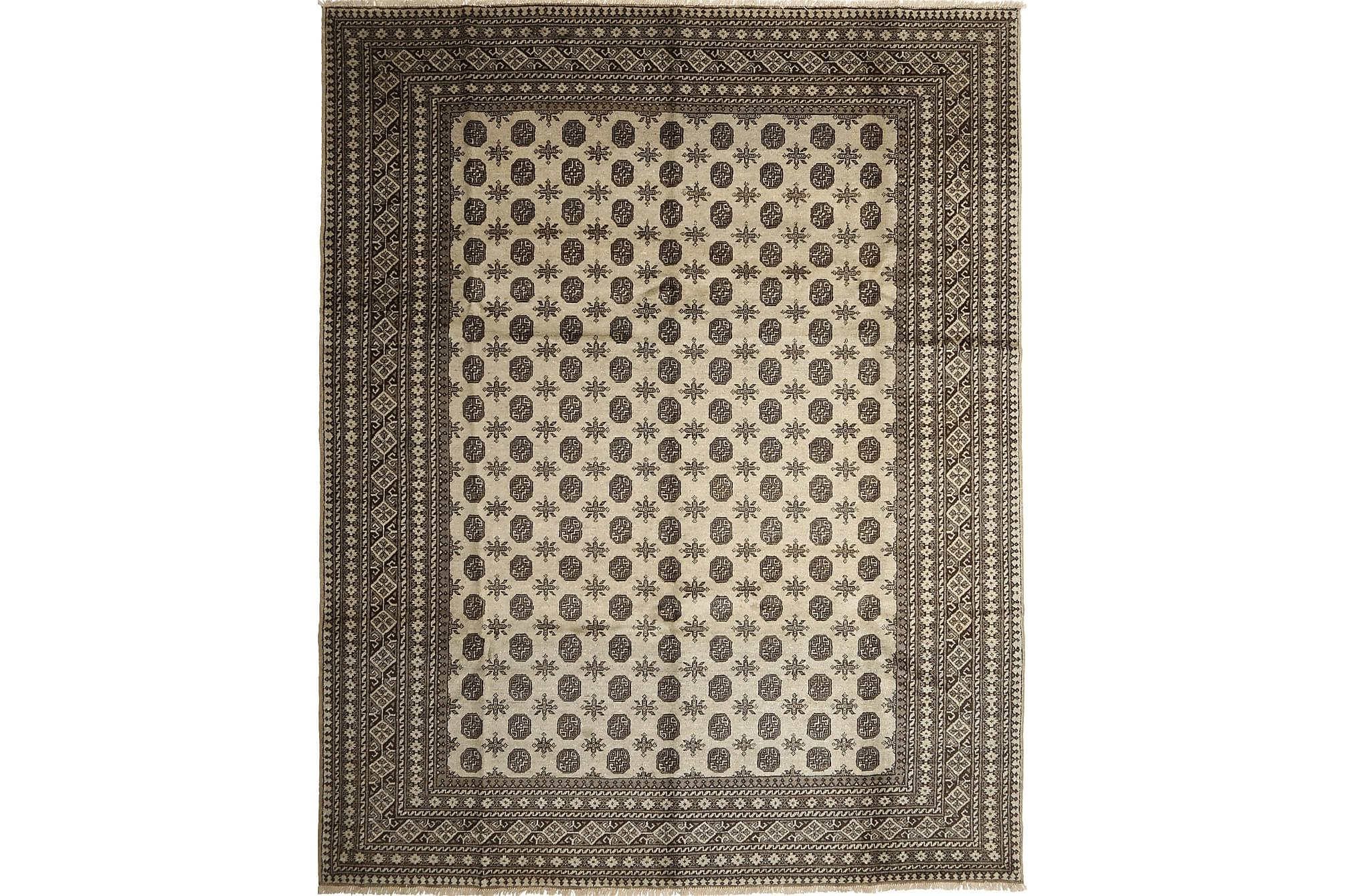 AFGHAN Matta 282x351 Stor Grå, Orientaliska mattor