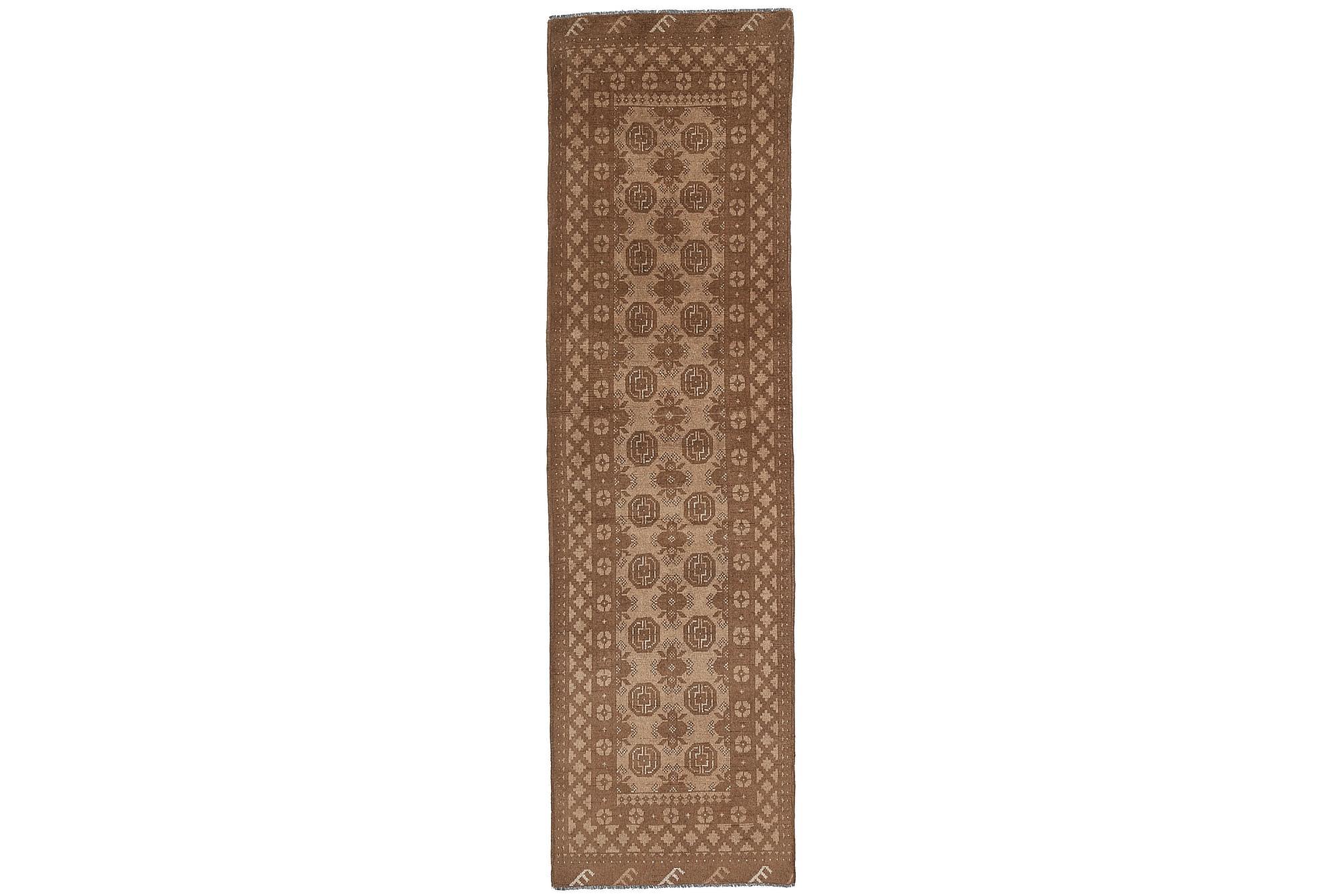 AFGHAN Matta 76x285 Stor Brun, Orientaliska mattor