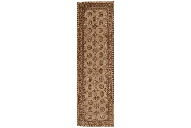 AFGHAN Matta 81x282 Stor Brun - Inomhus - Mattor - Orientaliska mattor