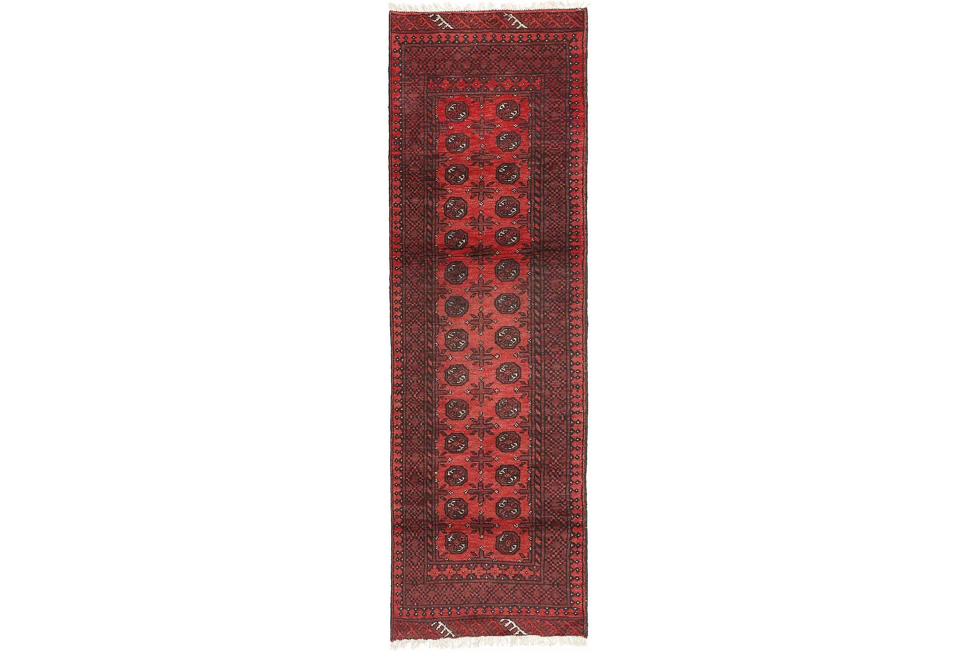 AFGHAN Matta 83x288 Stor Röd, Orientaliska mattor