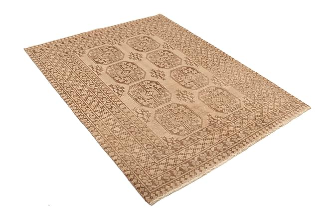 AFGHAN Orientalisk Matta 146x191 Brun - Möbler & Inredning - Mattor - Orientaliska mattor