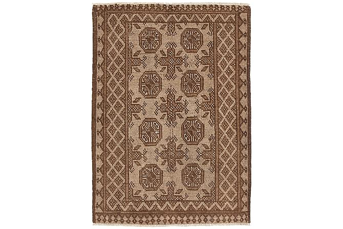 AFGHAN Orientalisk Matta 72x106 Brun - Möbler & Inredning - Mattor - Orientaliska mattor