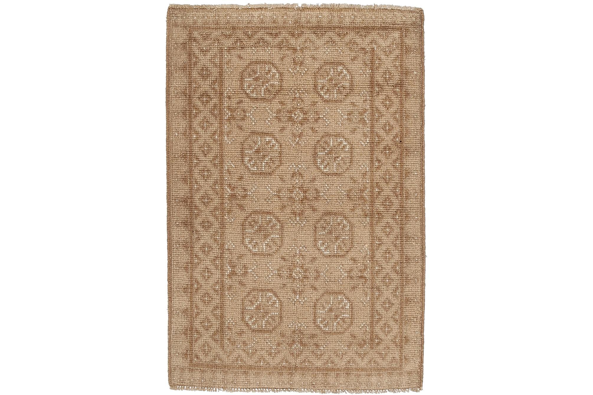 AFGHAN Orientalisk Matta 72x111 Beige, Orientaliska mattor