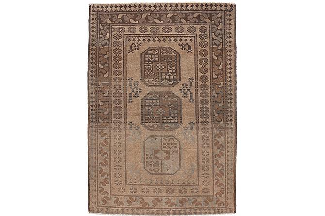 AFGHAN Orientalisk Matta 90x139 Brun - Möbler & Inredning - Mattor - Orientaliska mattor