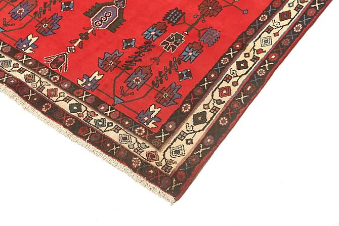 AFSHAR Orientalisk Matta 126x206 Persisk Röd - Möbler & Inredning - Mattor - Orientaliska mattor