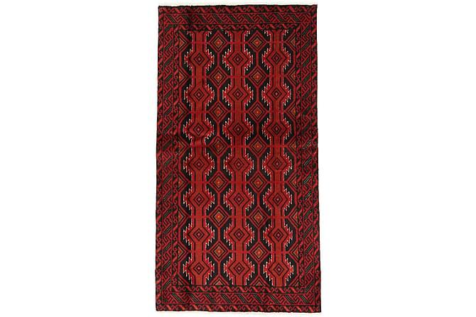 BELUCH Matta 97x183 Stor Röd - Möbler & Inredning - Mattor - Orientaliska mattor
