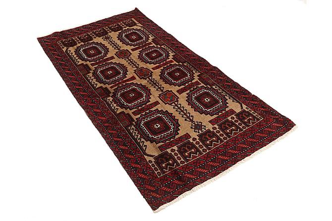 BELUCH Orientalisk Matta 102x191 Persisk Röd - Möbler & Inredning - Mattor - Orientaliska mattor