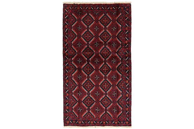 BELUCH Orientalisk Matta 105x185 Persisk Röd - Möbler & Inredning - Mattor - Orientaliska mattor