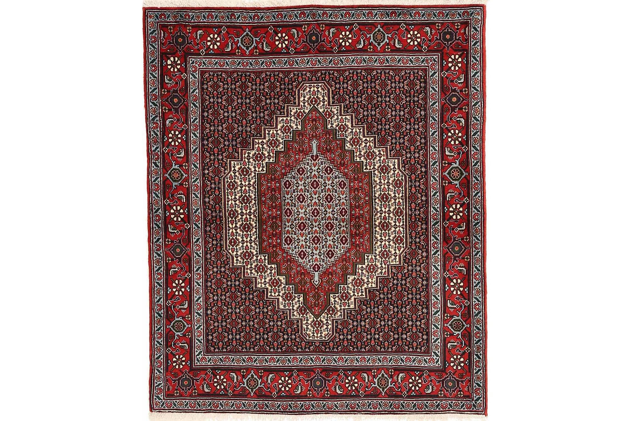 BELUCH Orientalisk Matta 120×145 Persisk Röd
