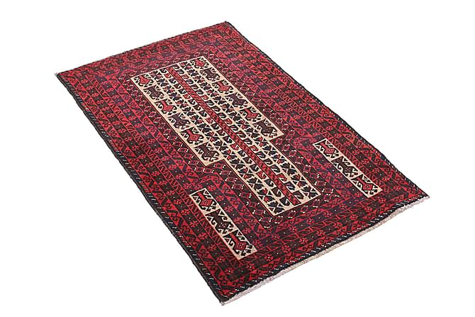 BELUCH Orientalisk Matta 80x129 Röd - Inomhus - Mattor - Orientaliska mattor