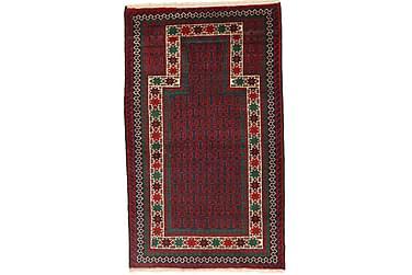 BELUCH Orientalisk Matta 86x147 Röd