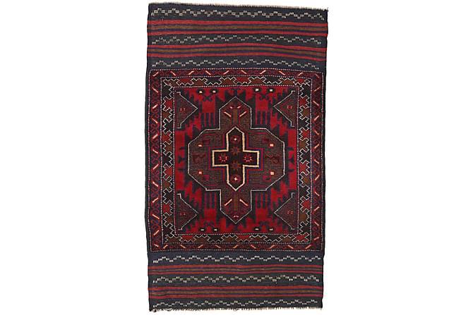 BELUCH Orientalisk Matta 86x149 Röd - Möbler & Inredning - Mattor - Orientaliska mattor