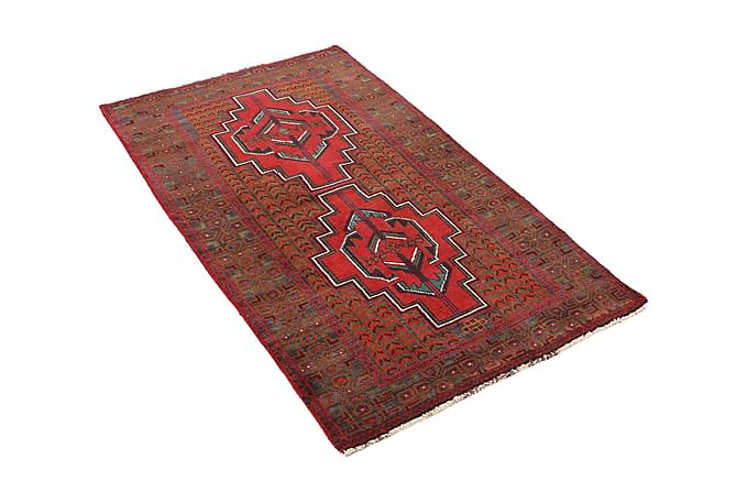 BELUCH Orientalisk Matta 87x137 Röd - Inomhus - Mattor - Orientaliska mattor