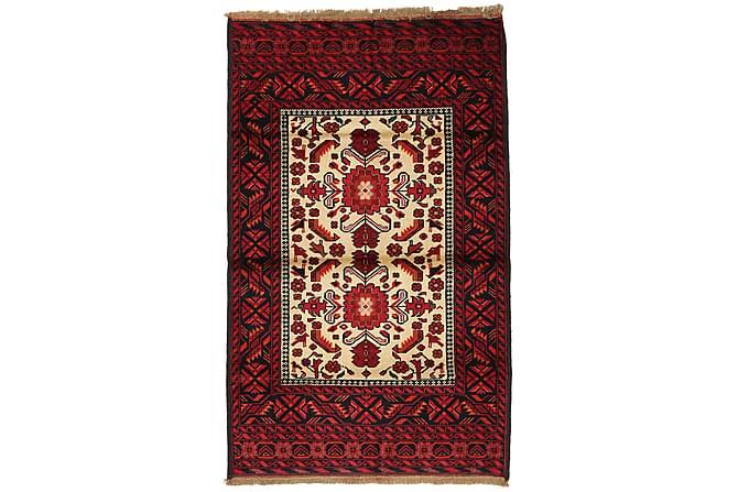 BELUCH Orientalisk Matta 87x143 Röd - Inomhus - Mattor - Orientaliska mattor