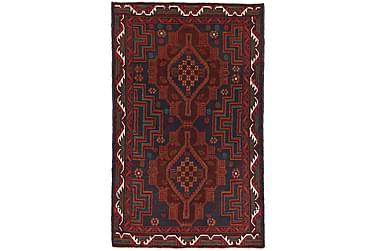 BELUCH Orientalisk Matta 87x147 Röd