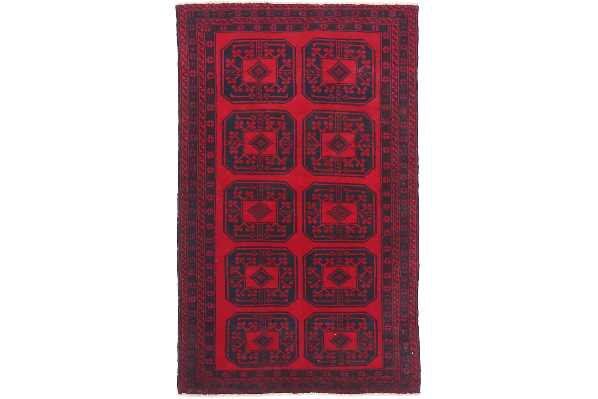 BELUCH Orientalisk Matta 87×151 Röd
