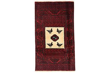 BELUCH Orientalisk Matta 87x153 Röd