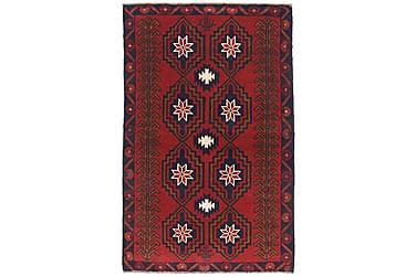BELUCH Orientalisk Matta 88x138 Röd