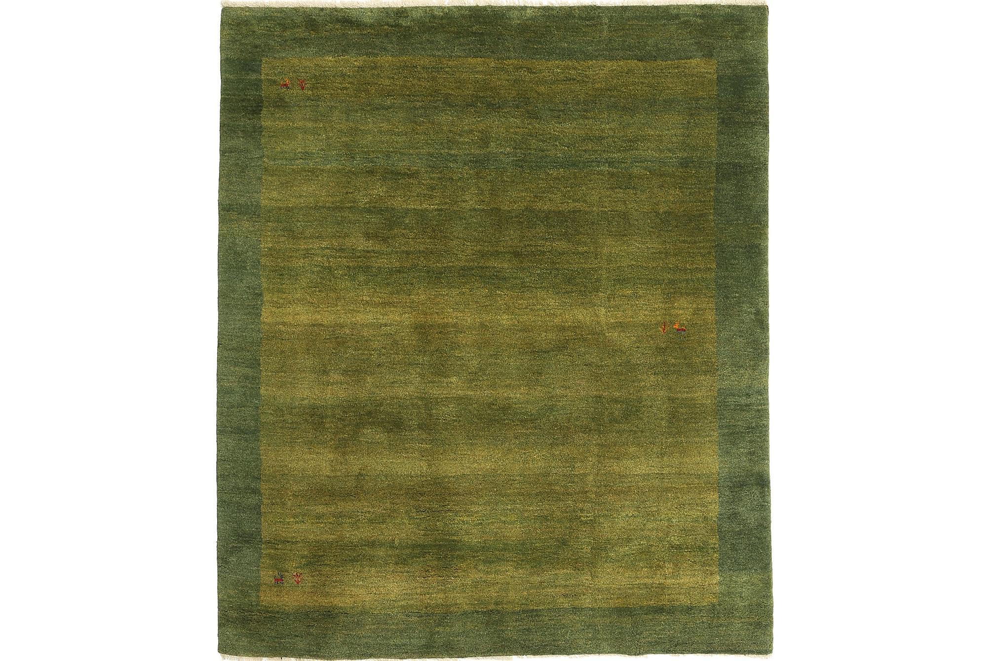 GABBEH Matta 200×230 Stor Grön