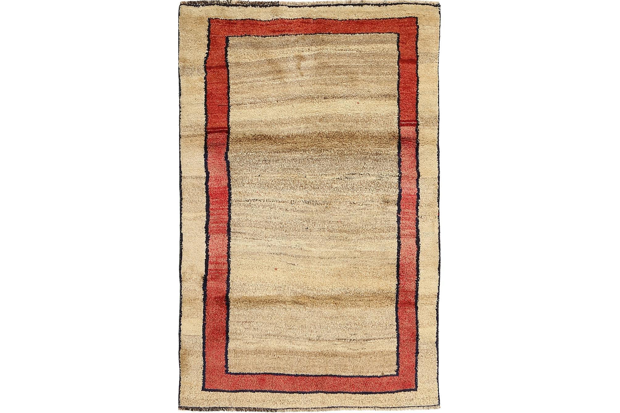 GABBEH Orientalisk Matta 113×179 Persisk Flerfärgad