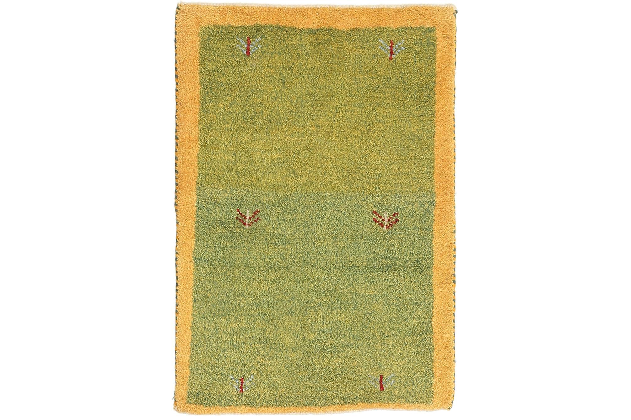 GABBEH Orientalisk Matta 61×87 Grön