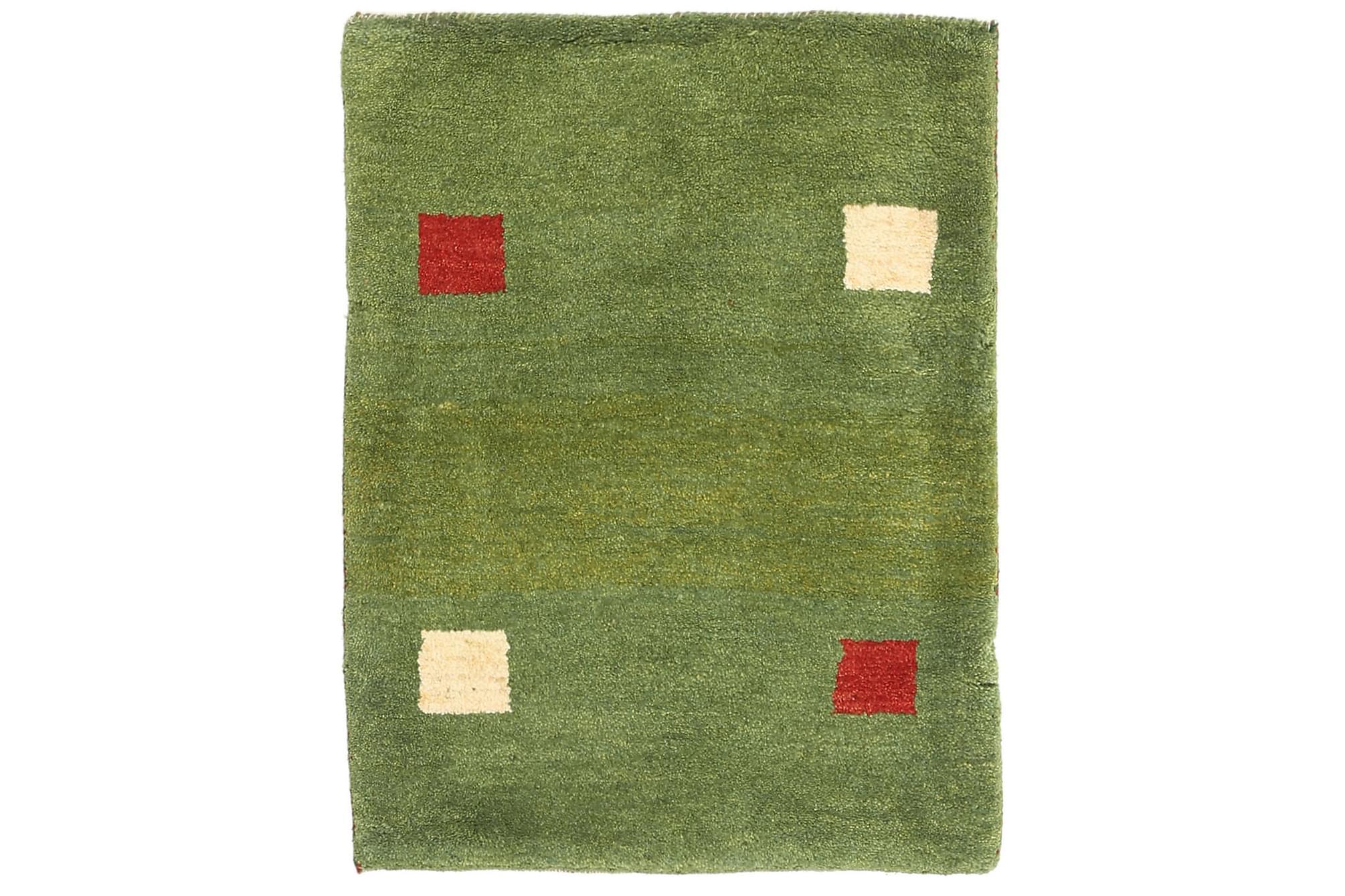 GABBEH Orientalisk Matta 65×88 Grön