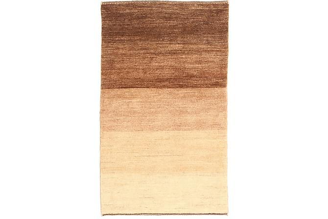 GABBEH Orientalisk Matta 78x133 Beige/Brun - Möbler & Inredning - Mattor - Orientaliska mattor